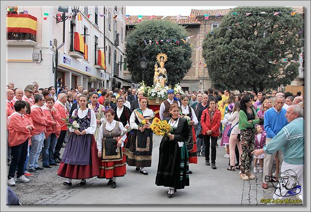 Briviesca en Fiestas 2.015 Procesión del Rosario y canto popular de la Salve (13)
