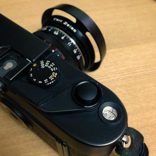 Leica M6 w/soft shutter button