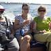 Roger, Eva, Lisa & Link på väg till Ven
