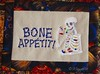 EL Bone Appetit mug rug