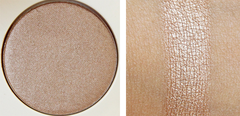 H&M baci di dama high impact eye color swatch