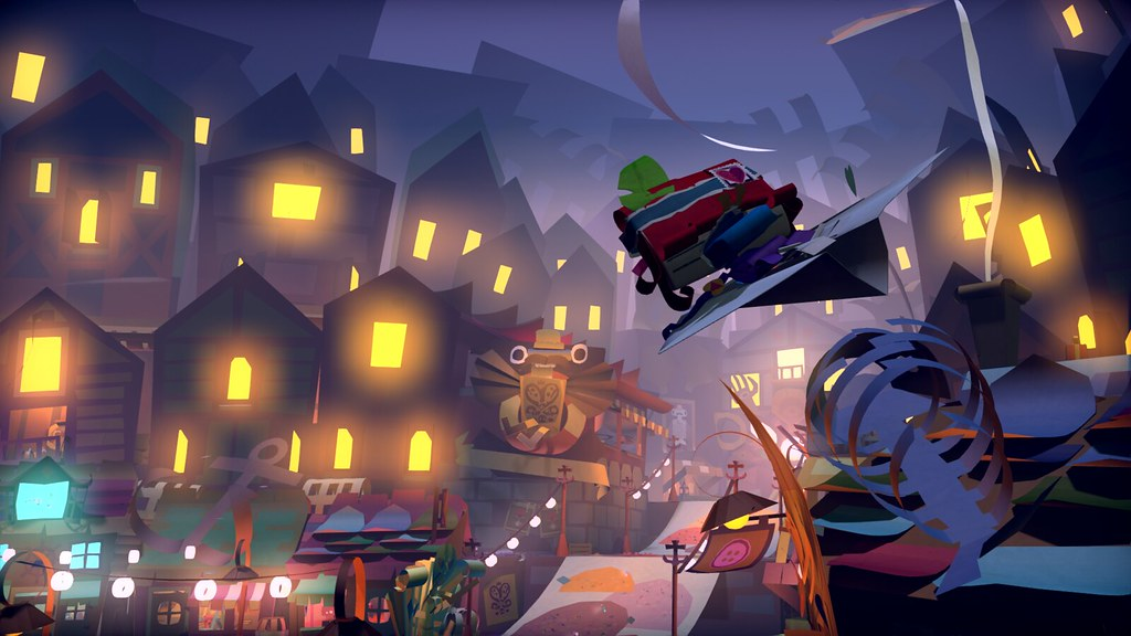 "PlayStation®4 exclusive title ""Tearaway™ Unfolded (Chinese+ English version)"" is released!"