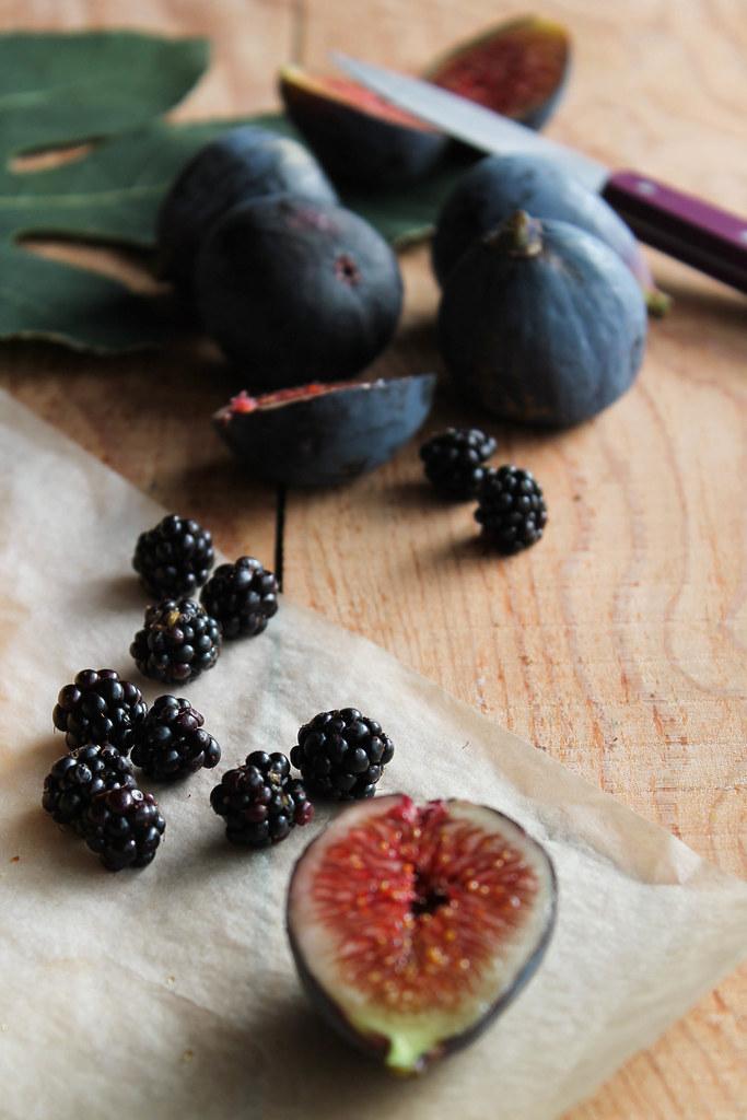 Tarte aux figues et aux m res vegan aime mange - Quand cueillir les figues ...