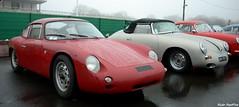 Porsche 356 B Abarth Carrera GTL & 356 cariolet