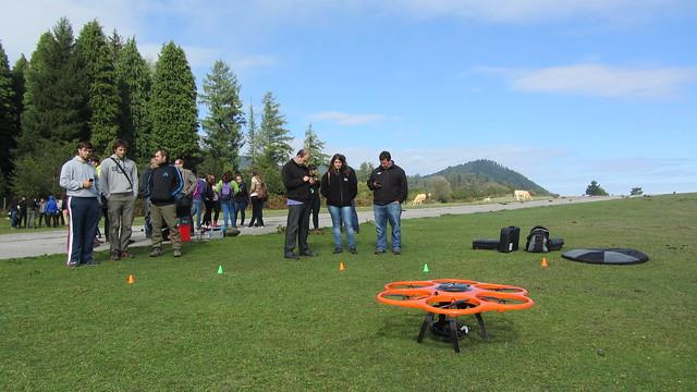 Aibotix X6 dronea Dimako aireportuan