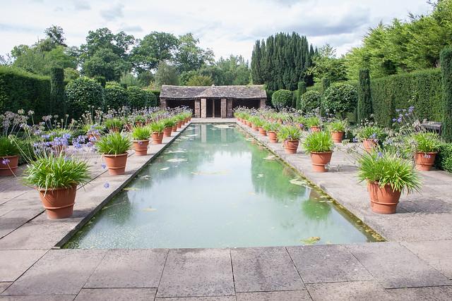 The gardens at Hampton Court