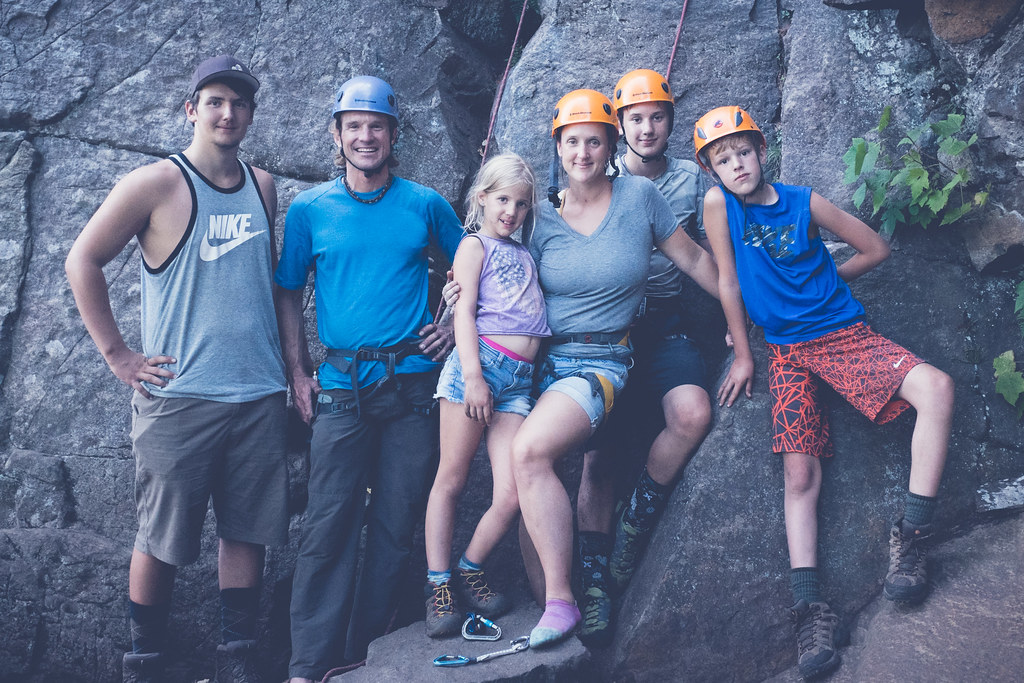 "The Family with ""Adventure Dad"""