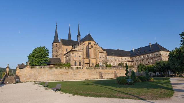 Michaelsberg Abbey. Bamberg. Upper Franconia, Bavaria, Germany