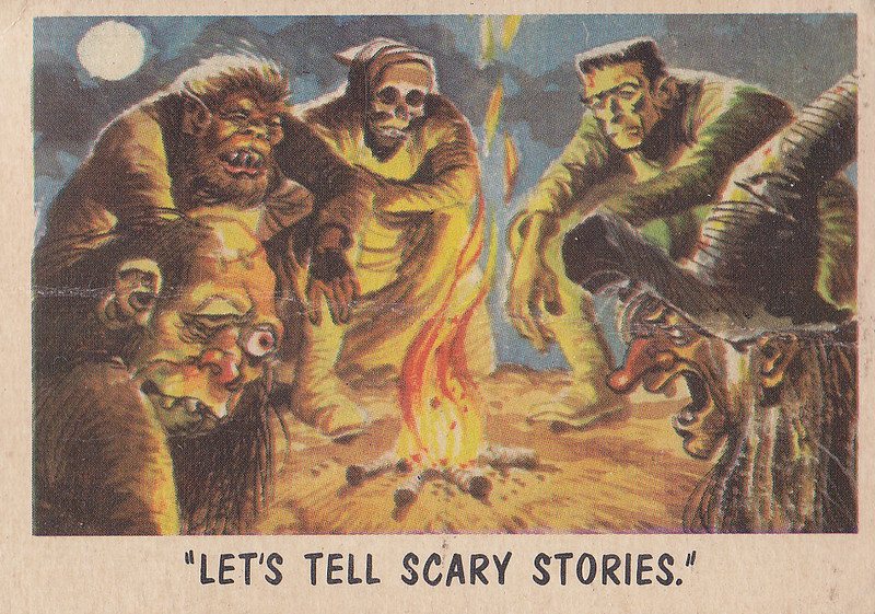 """You'll Die Laughing"" Topps trading cards 1959,  illustrated by Jack Davis (19)"