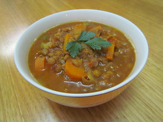 Abe's Hearty Lentil Stew
