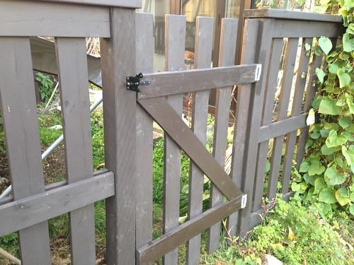 庭の出入り口を改良