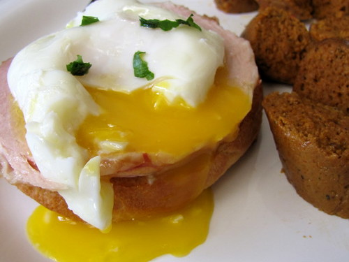 Poached Egg On Brioche