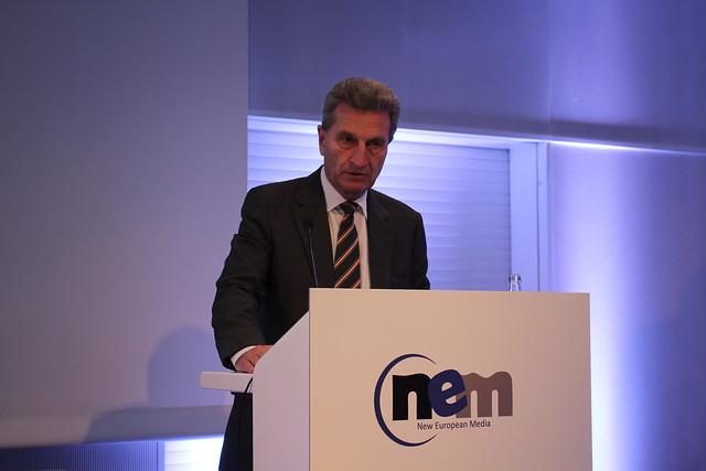 Günther Oettinger - Frankfurt Buchmesse 2015