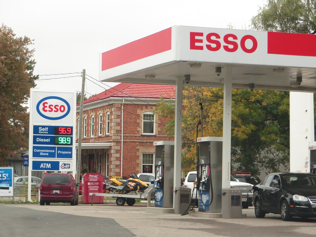 Esso Gas Station, Sebringville, South Perth, Canada