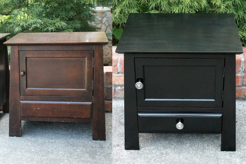 Nightstands - Before & After