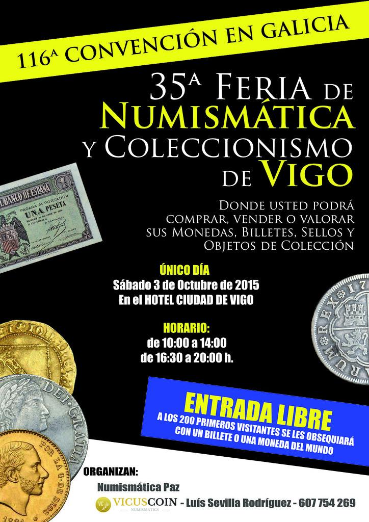 35ª FERIA DE NUMISMÁTICA Y COLECCIONISMO DE VIGO 21696773151_527482aff8_b
