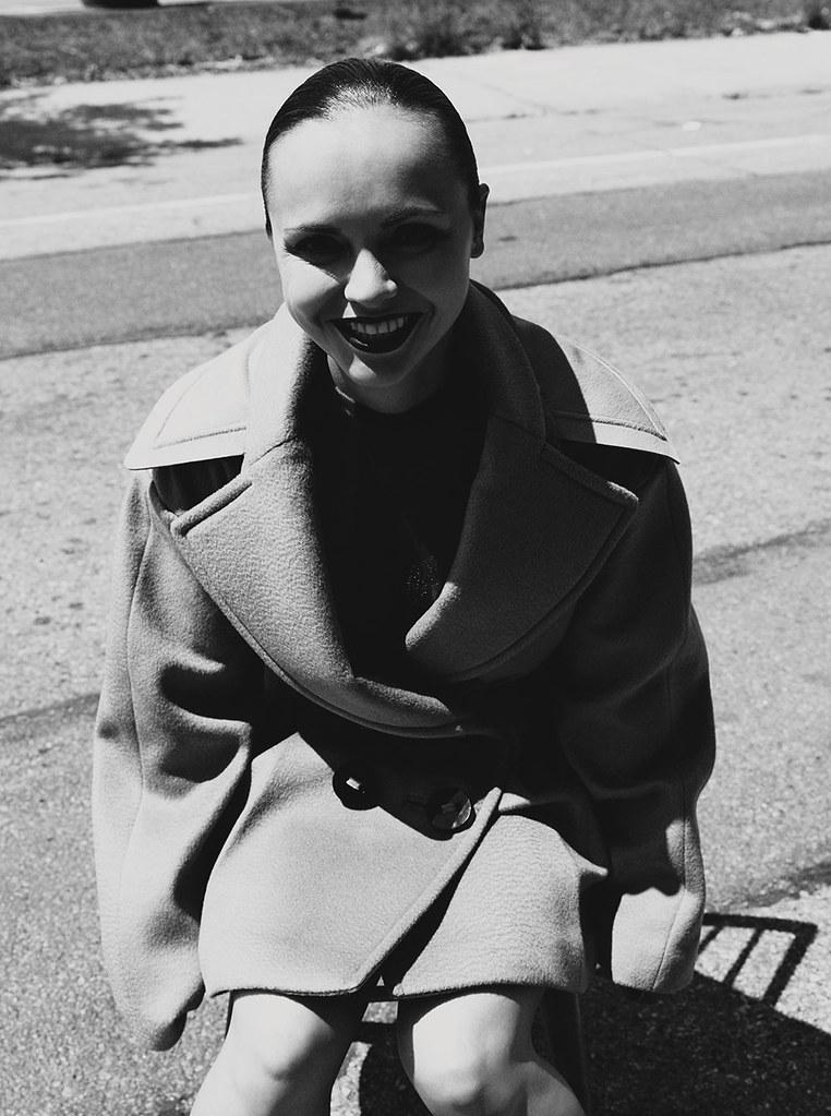 Кристина Риччи — Фотосессия для «Dazed» 2015 – 1