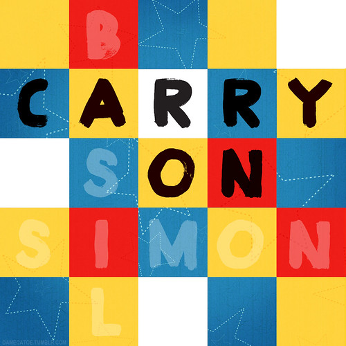 cover art for my Carry On fanmix