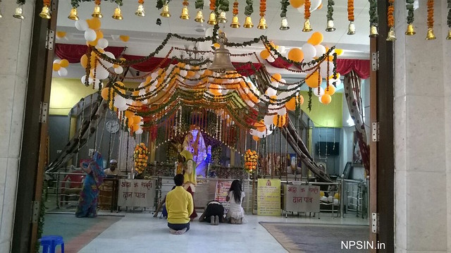Full view of Sai darbar