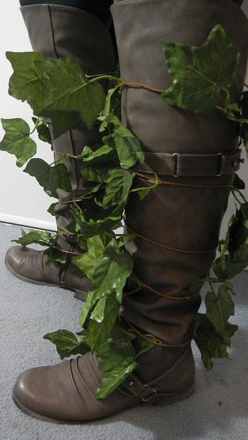 Poison Ivy Costume 1