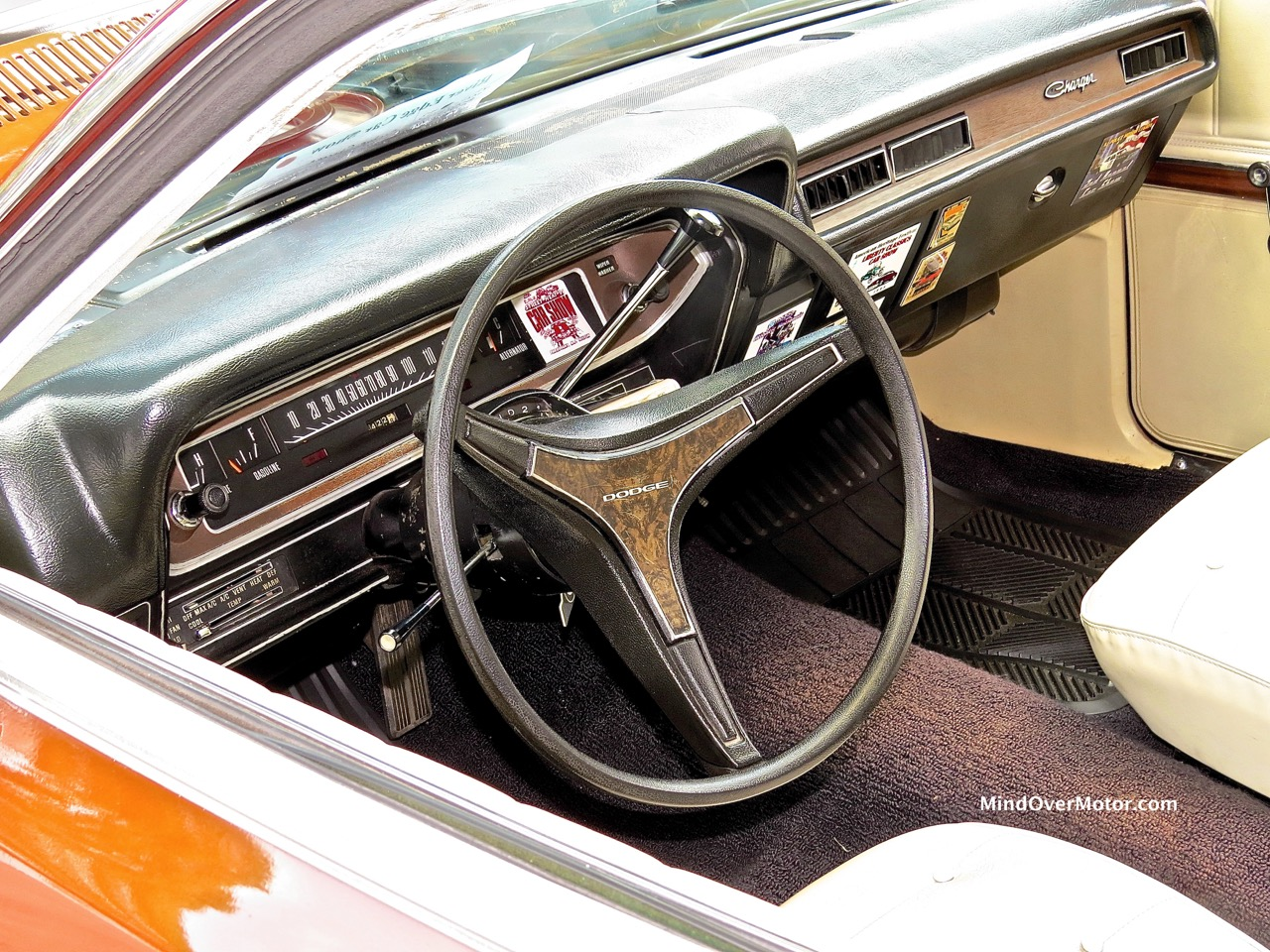 1974 Dodge Charger Interior