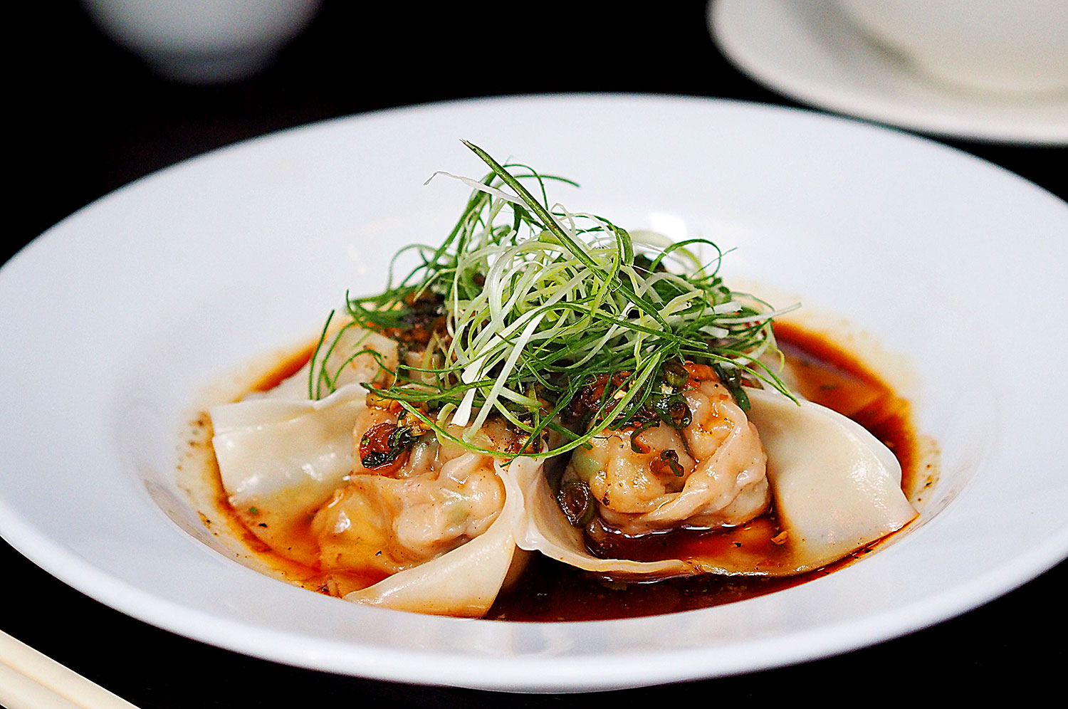 Steamed Prawn Wontons, $19, Billy Kwong Potts Point: Sydney Food Blog Review