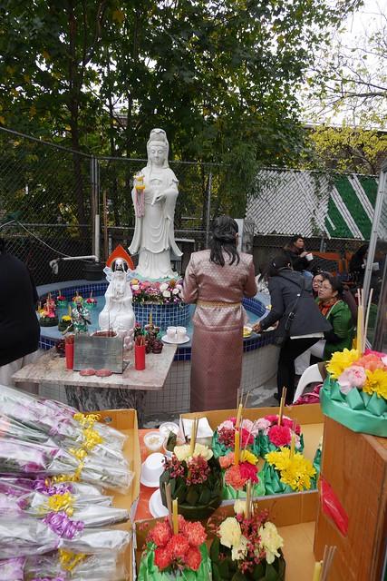 日, 2015-11-22 11:55 - Wat Buddha Thai Royal Kathin Celebration