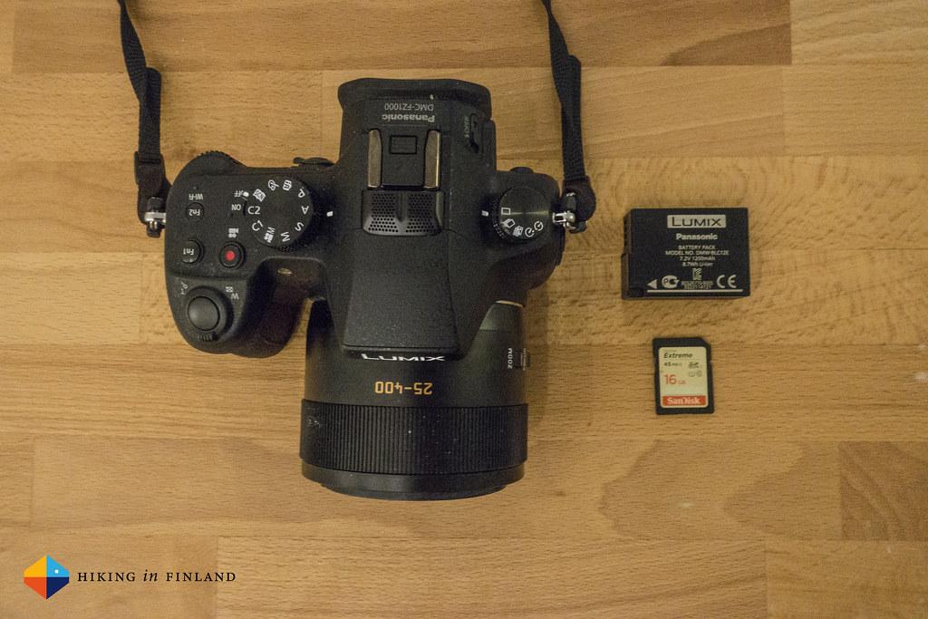 All it needs: Battery, SD Card and Panasonic DMC-FZ1000
