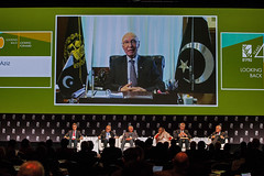 Video message from Sartaj Aziz, Advisor to the Prime Minister of Pakistan on Foreign Affairs, and former Vice Chancellor, Beacon-house National University, Pakistan