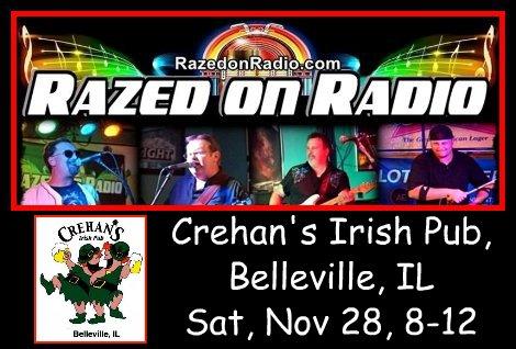 Razed on Radio 11-28-15