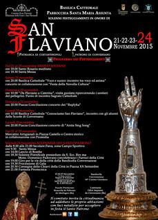 Conversano- festeggiamenti in onore di San Flaviano