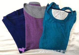 カラー診断、長袖シャツ比較