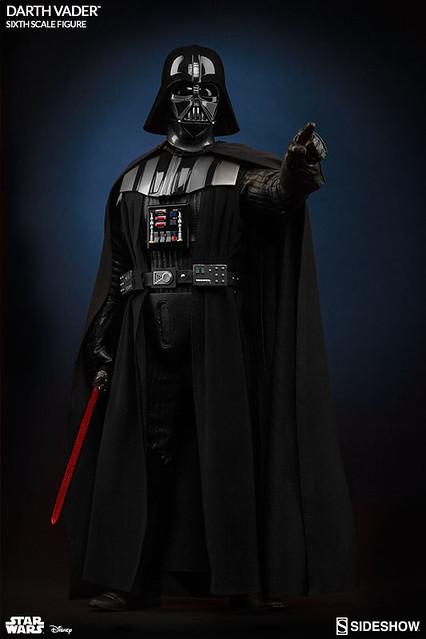 Sideshow Collectibles【黑武士 達斯.維德】星際大戰系列 Darth Vader 1/6 比例作品