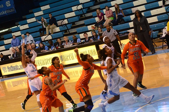 basketball: florida a&m @ unc