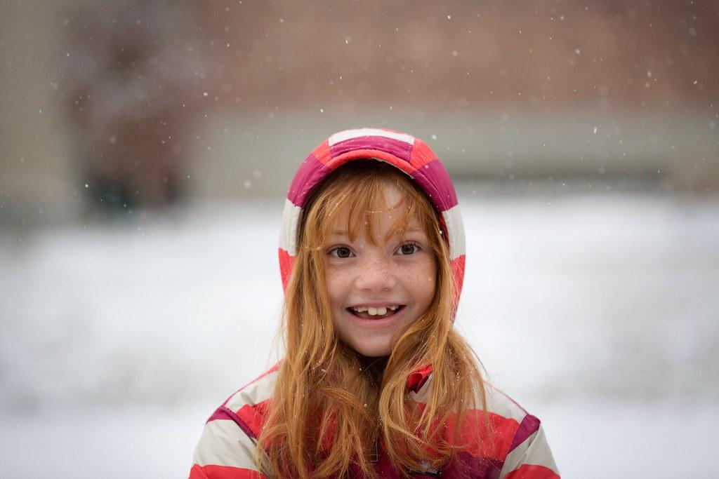 Snow-on-her-birthday
