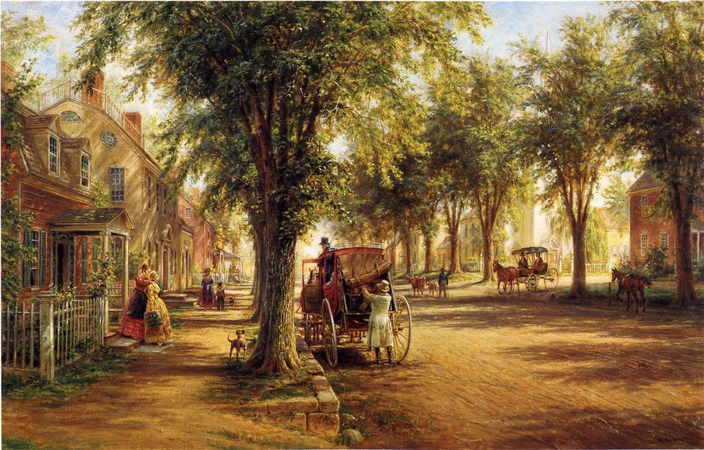 Coming Home by Edward Lamson Henry