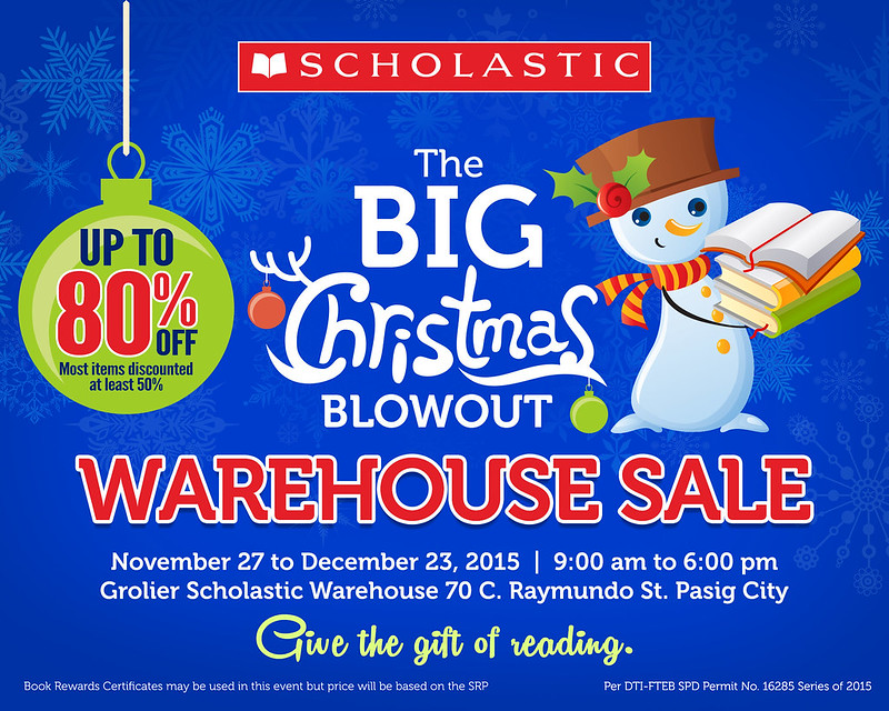 Scholastic Christmas Warehouse Sale_Banner