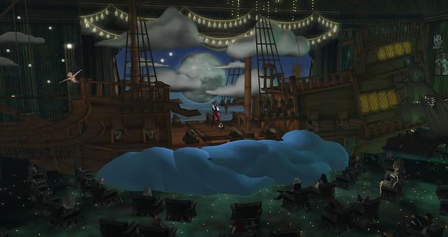 Pirate ship in the theatre