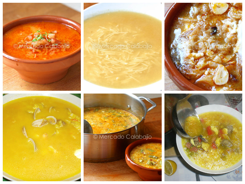 Collage Sopas