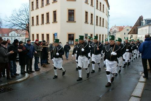 21.11.2015 - Berg- und Hüttenparade zum 250. Gründungsjubiläum der TU Bergakademie Freiberg