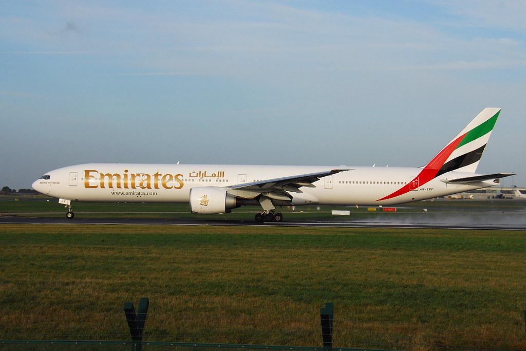 A6-EPF - B77W - Emirates