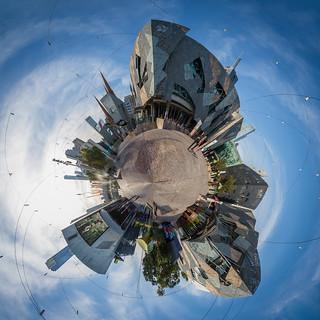 Imagen de Federation Square.