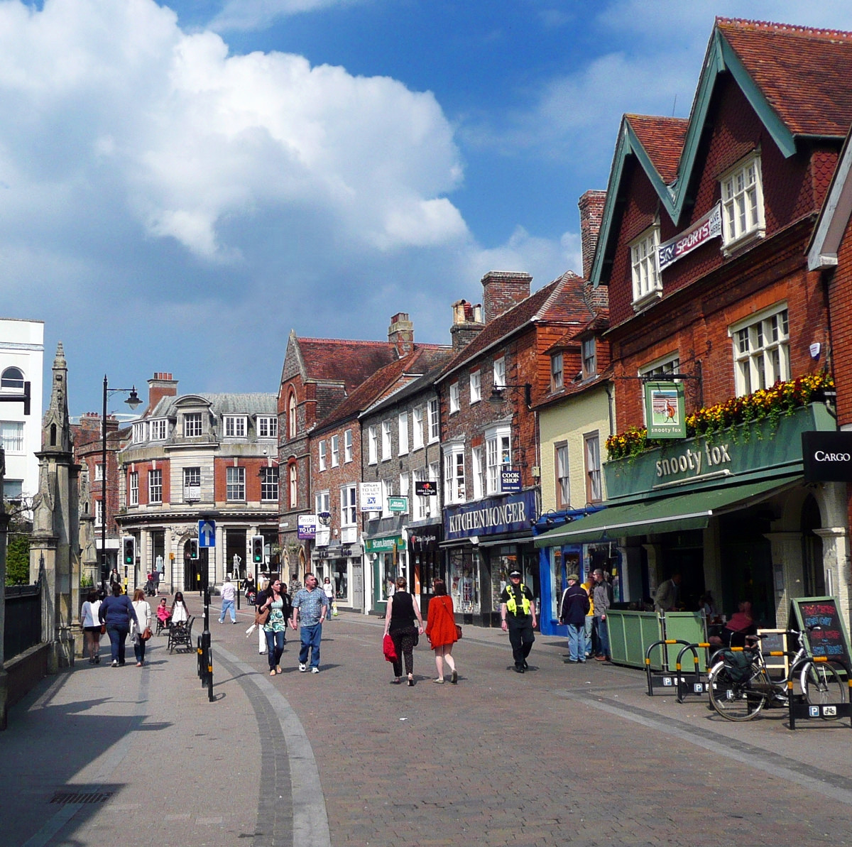 Bartholomew Street, Newbury. Credit Tom Bastin