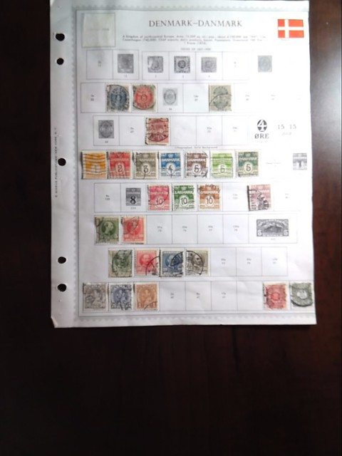 Lot of Denmark Stamps by StampPhenom.com