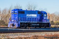 GMTX 2174   EMD GP38-2   UP Marion Intermodal Facility