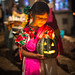 Girl + Pumpkin - Janitzio, Mexico por N+C Photo