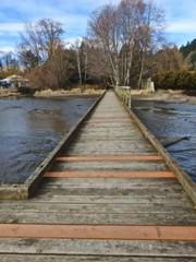 The pier in the preserve