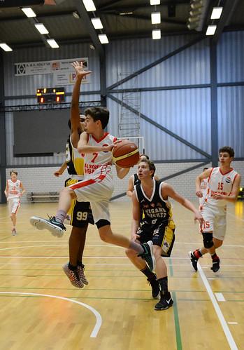 Petite Finale Sam CPE - Lugano Tigers U16  9