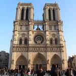 ภาพของ Cathedral of Notre Dame de Paris. paris parís parigi parijs paryż paříž iledefrance france francia frança frankrijk frankreich frankrig frankrike francja francie notredame 4earrondissement architecture december2016 notredamedeparis cathédralenotredame notredamecathedral cathedral cathédrale gothic gothique