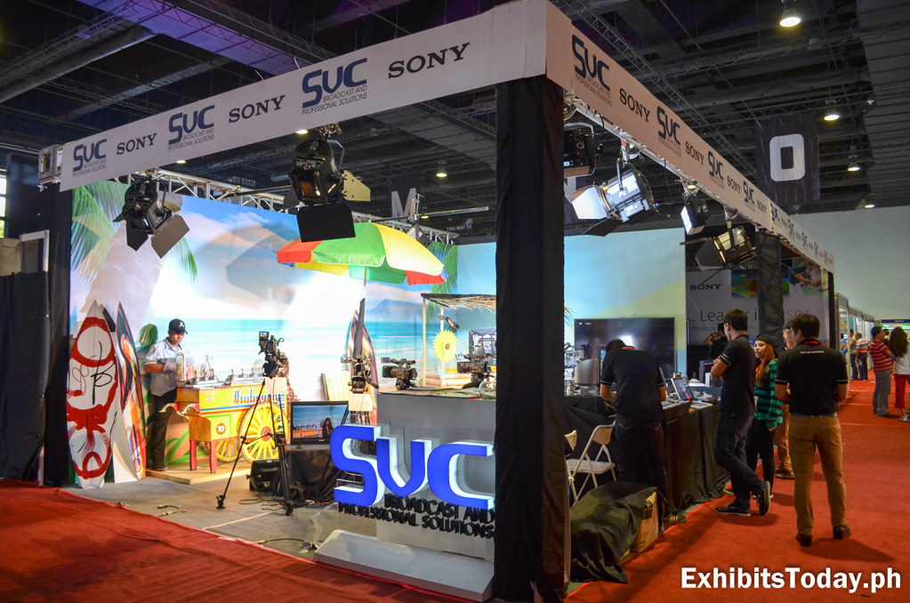 SVC Broadcast and Professional Solutions Exhibit Booth